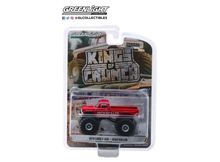 GREENLIGHT 1:64 - FORD F-350 1979 MONSTER TRUCK HIGH ROLLER 'KINGS OF CRUNCH SERIES 3', RED