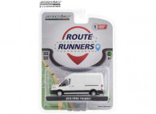 GREENLIGHT 1:64 - FORD TRANSIT 2015 LWB HIGH ROOF *ROUTE RUNNERS SERIES 1*, OXFORD WHITE