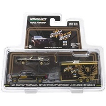 GREENLIGHT 1:64 - SMOKEY & THE BANDIT II (1980) 2015 CHEVY SILVERADO & 1980 PONTIAC TRANS AM
