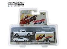 GREENLIGHT 1:64 - VANISHING POINT 1971 2018 RAM 2500 WITH 1970 DODGE CHALLENGER R/T