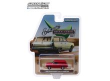 GREENLIGHT 1:64 - VOLKSWAGEN TYPE 3 PANEL VAN 'ESTATE WAGONS SERIES 2' 1968, VELOUR RED