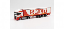 "HERPA 1:87 - Iveco S-Way curtain semitrailer ""Smet"""