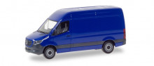 HERPA 1:87 - Mercedes-Benz Sprinter box type with high roof, ultramarine blue