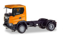 HERPA 1:87 - SCANIA CG 17 4X4 RIGID TRACTOR, ORANGE