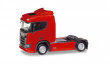 HERPA 1:87 - Scania CR 20 low roof rigid tractor, red