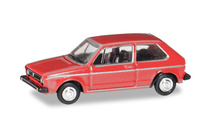 HERPA 1:87 - VOLKSWAGEN Golf I, martian red