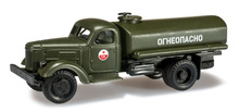 HERPA MILITARY 1:87 - ZIL 164 GAS TANK TRUCK SOVIET ARMY 'CA'