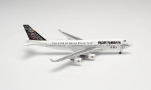 """HERPA (WINGS) 1:500 - Iron Maiden (Air Atlanta Icelandic) Boeing 747-400 """"Ed Force One"""" - The Book of Souls World Tour 2016 - TF-AAK"""