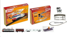 LIMA 1:87 - FREIGHT TRAIN SET E.656 (128X75CM)