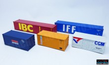 LIMA 1:87 - SET OF 5 CONTAINERS