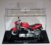 MAGAZINE MODELS 1:24 - TRIUMPH 955 SPEED TRIPLE