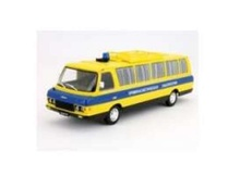 MAGAZINE MODELS 1:43 - BUS CRIMINAL LABORATORY, YELLOW/BLUE