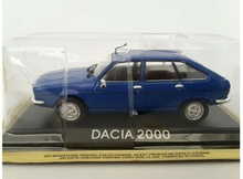 MAGAZINE MODELS 1:43 - DACIA 2000 (RENAULT 20) *LEGENDARY CARS*, BLUE