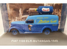 MAGAZINE MODELS 1:43 - FIAT 1100 ELR 1948 DELIVERY VAN *BUTANE GAS*, BLUE
