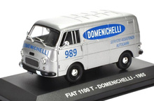 MAGAZINE MODELS 1:43 - FIAT 1100 T DOMENICHELLI 1965