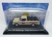 MAGAZINE MODELS 1:43 - FIAT 1500 MULTICARGA 1965 PICK-UP PNEUS, BEIGE