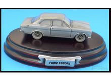 MAGAZINE MODELS 1:43 - FORD ESCORT MK1 *TIN CLASSIC CAR COLLECTION*, SILVER