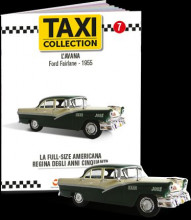 MAGAZINE MODELS 1:43 - FORD FAIRLANE - HAVANA 1955, TAXI OF THE WORLD - CENTAURIA