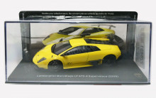 MAGAZINE MODELS 1:43 - LAMBORGHINI MURCIELAGO LP 670-4 SUPERVELOCE, YELLOW