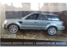 MAGAZINE MODELS 1:43 - RANGE ROVER JAMES BOND 'QUANTUM OF SOLACE', SILVER