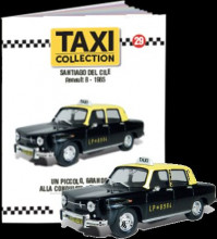 MAGAZINE MODELS 1:43 - RENAULT 8 - SANTIAGO DE CHILE 1965, TAXI OF THE WORLD - CENTAURIA