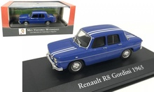 MAGAZINE MODELS 1:43 - RENAULT R8 GORDINI 1965, BLUE WITH WHITE STRIPES