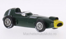MAGAZINE MODELS 1:43 - VANWALL VW57, NO.8, FORMULA 1 S.MOSS, WITHOUT SHOWCASE