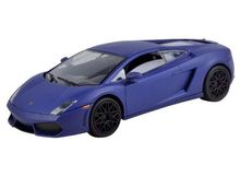 MOTOR MAX 1:24 - LAMBORGHINI GALLARDO LP560-4 2009 'SATIN SERIES', MATT BLUE