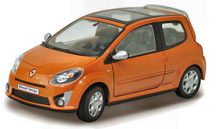 MOTORAMA 1:24 - RENAULT TWINGO II 2007 ORANGE