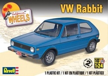 REVELL US 1:24 - VOLKSWAGEN RABBIT (GOLF I), PLASTIC MODELKIT