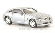 RICKO 1:87 - CHRYSLER CROSSFIRE COUPE, SILVER