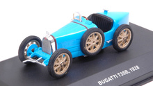 SOLIDO 1:43 - BUGATTI T35B 1928, LIGHT BLUE