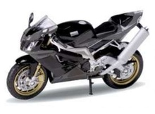 WELLY 1:18 - APRILIA RSV 1000R FACTORY, BLACK