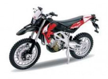 WELLY 1:18 - APRILIA RXV 450, RED