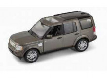 WELLY 1:24 - LAND ROVER DISCOVERY 2010, METALLIC BROWN