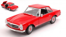 WELLY 1:24 - MERCEDES 230 SL (W113) RED