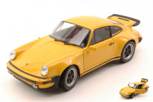 WELLY 1:24 - PORSCHE 911 TURBO 3.0 1974 YELLOW