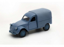 WELLY 1:32 - CITROEN 2CV FOURGONNETTE, CLASSIC BLUE