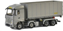 WSI 1:50 - Mercedes Benz MP4 Actros Stream Space 8x4 Hooklift Container 40M3