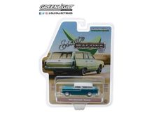 GREENLIGHT 1:64 - CHEVROLET NOMAD 'ESTATE WAGON SERIES 3' 1955, REGAL TURQUOISE AND INDIA IVORY