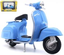 WELLY 1:18 - VESPA 150CC 1970, LIGHT BLUE