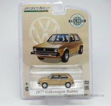 GREENLIGHT 1:64 - VOLKSWAGEN RABBIT 1977 THE CHAMPAGNE EDITION *HOBBY EXCLUSIVE*, BROWN