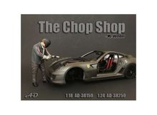 AMERICAN DIORAMA 1:24 - CHOP SHOP SET MR. WELDER