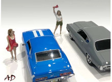 AMERICAN DIORAMA 1:43 - 70S STYLE FIGURE SET #4