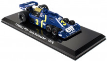 ATLAS 1:24 - TYRREL P34 #3 JODY SCHECKTER 1976 - LEGENDARY RACING CARS, BLUE
