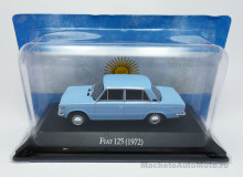 ATLAS 1:43 - Fiat 125 1972 - UNFORGETABLE CARS, Licht albastru