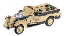 ATLAS 1:43 - M3 A1 SCOUT CAR 5TH FIELD REGIMENT NZ ARTILLERY ENFIDAVILLE