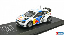 ATLAS 1:43 - VW POLO R WRC #8 OGIER/INGRASSIA RALLY FINLAND 201