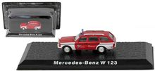 ATLAS 1:72 - MERCEDES BENZ W123, RED/WHITE