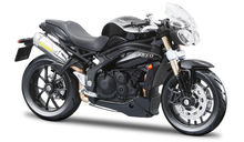 BBURAGO 1:18 - TRIUMPH SPEED TRIPLE 2011, BLACK